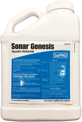 Sonar Genesis Aquatic Herbicide for lakes and ponds